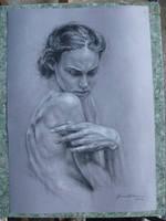 Sutileza femenina y gris by JormanComegato