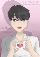 Happy Jin Day~ by C0smic-Rik0