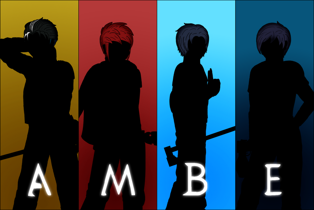 AMBE in full silhouettes by RainyMeadows