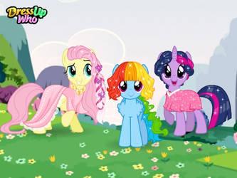 pony hair day