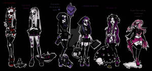 We are monster girls from freaky world