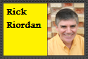 Rick Riordan Stamp by LegendaryWriter