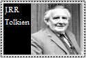J.R.R. Tolkien Stamp by LegendaryWriter