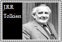J.R.R. Tolkien Stamp by LegendaryWriter