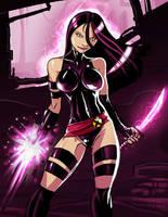 Psylocke by Ganassa
