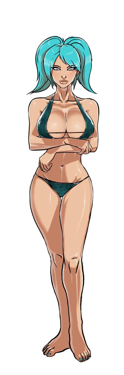 chicas del lol en bikini+ yapa