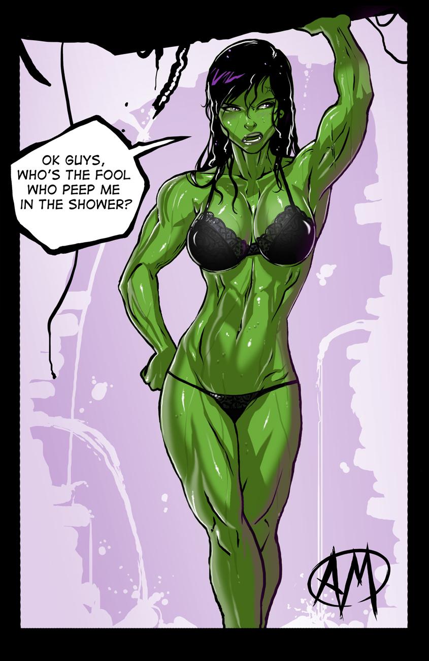 hulk sexy she Hard