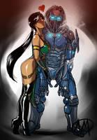 Jade X Cyber Subzero Friendship by Ganassa