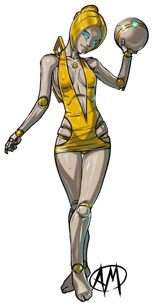 League of Legends: Orianna by Ganassa