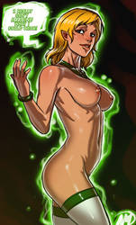 Green Lantern Universe - Arisia Rrab by Ganassa