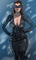 Dark Knight Rise's Catwoman