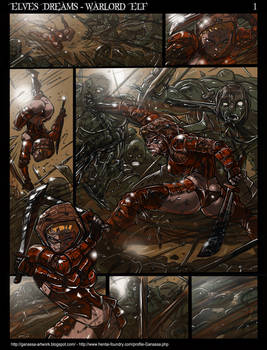 Elves Dreams Donor Commission - Warlord Elf Page 1