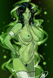 Green Lantern Universe - Jade by Ganassa