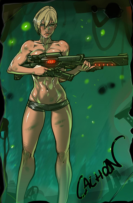 Sergeant Tamora Jean Calhoun by Ganassa
