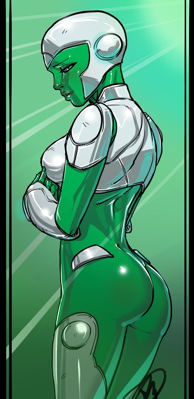 Green Lantern Universe - Aya by Ganassa