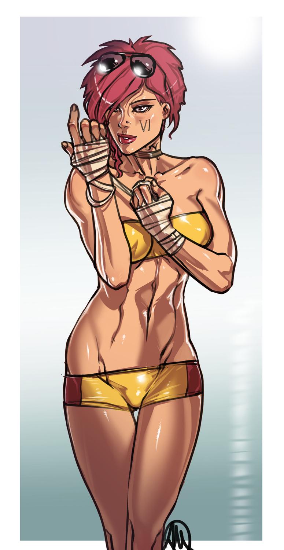 League of Legends VI Cosplay Fan Art by Ganassa