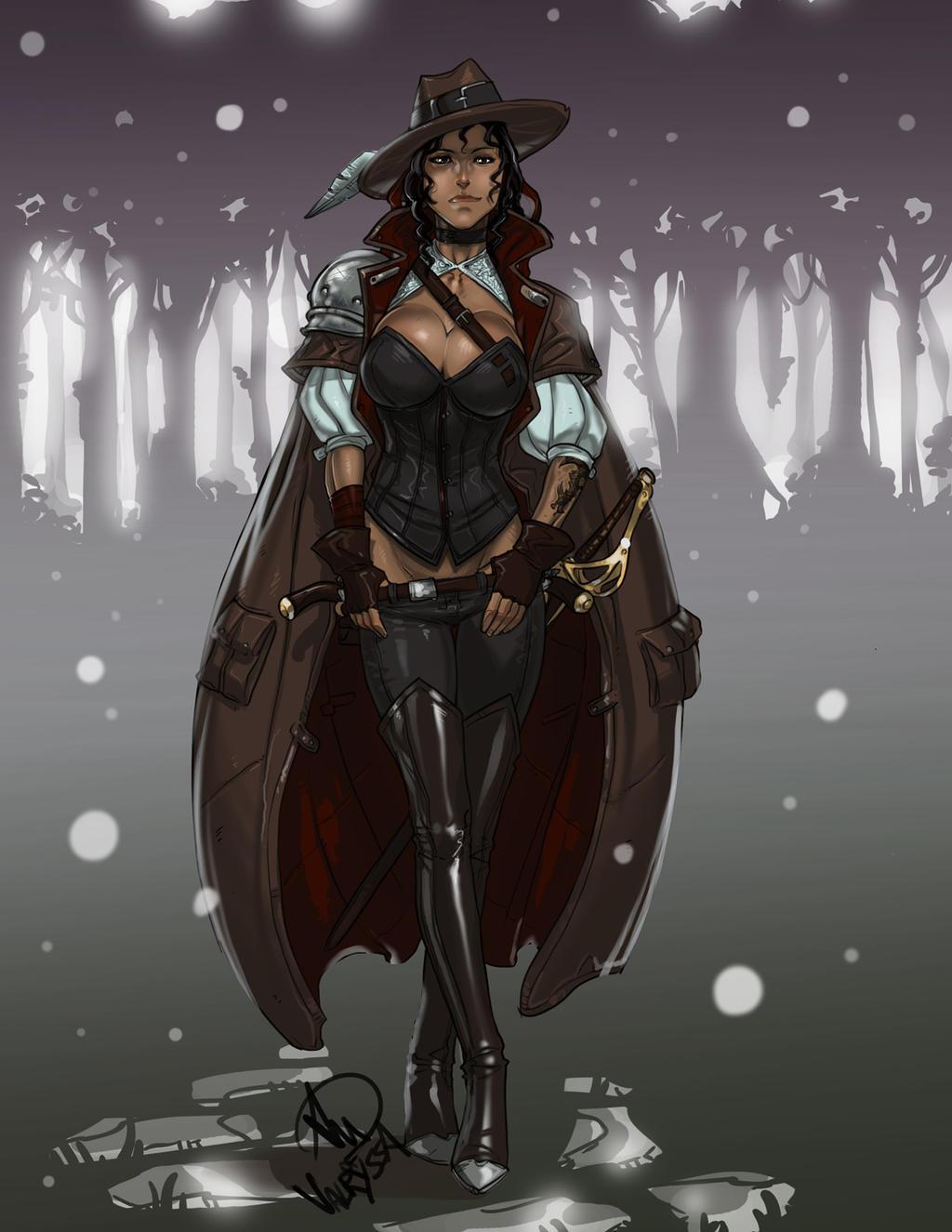 Valryssa the Hallowed by Ganassa