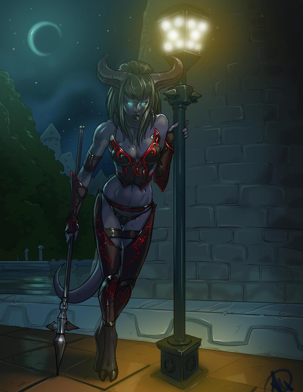 Lurry The Death Knight by Ganassa