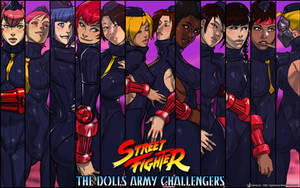 Street Fighter - Dolls Army Challengers wallpaper by Ganassa