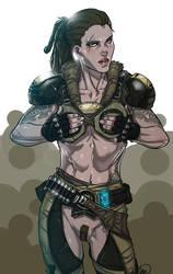 Gears of War: Bernadette 'Bernie' Mataki by Ganassa