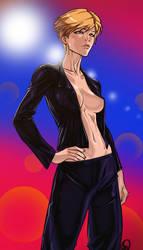 Haruka Tenou aka Sailor Uranus by Ganassa