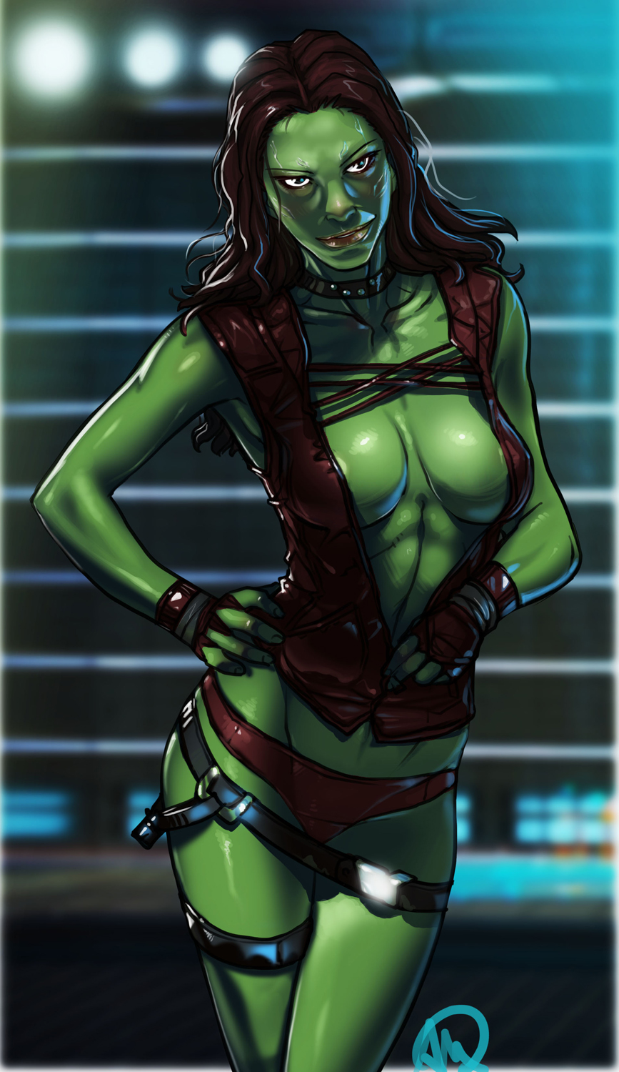Guardians of the Galaxy - Gamora *Fixed* by Ganassa