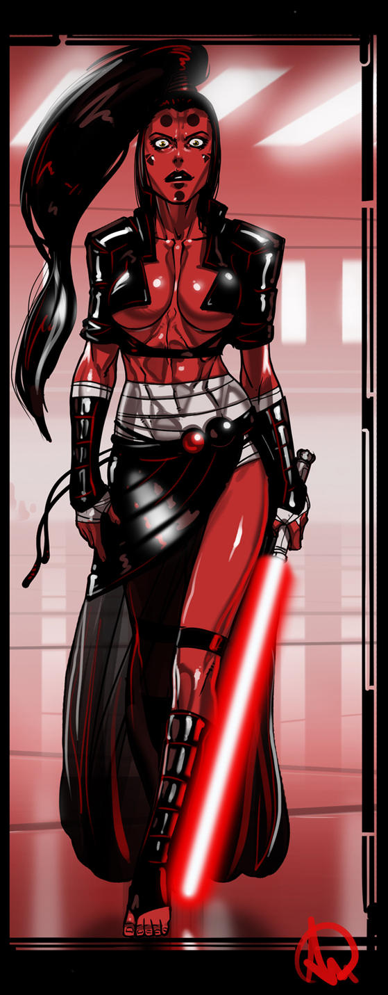Sith Furies - Darth Maladi by Ganassa