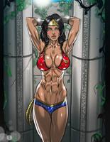 Wonder Woman - SFW by Ganassa