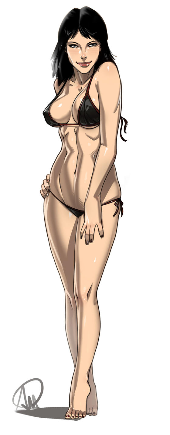 Rebecca Crane swimsuit ver. by Ganassa