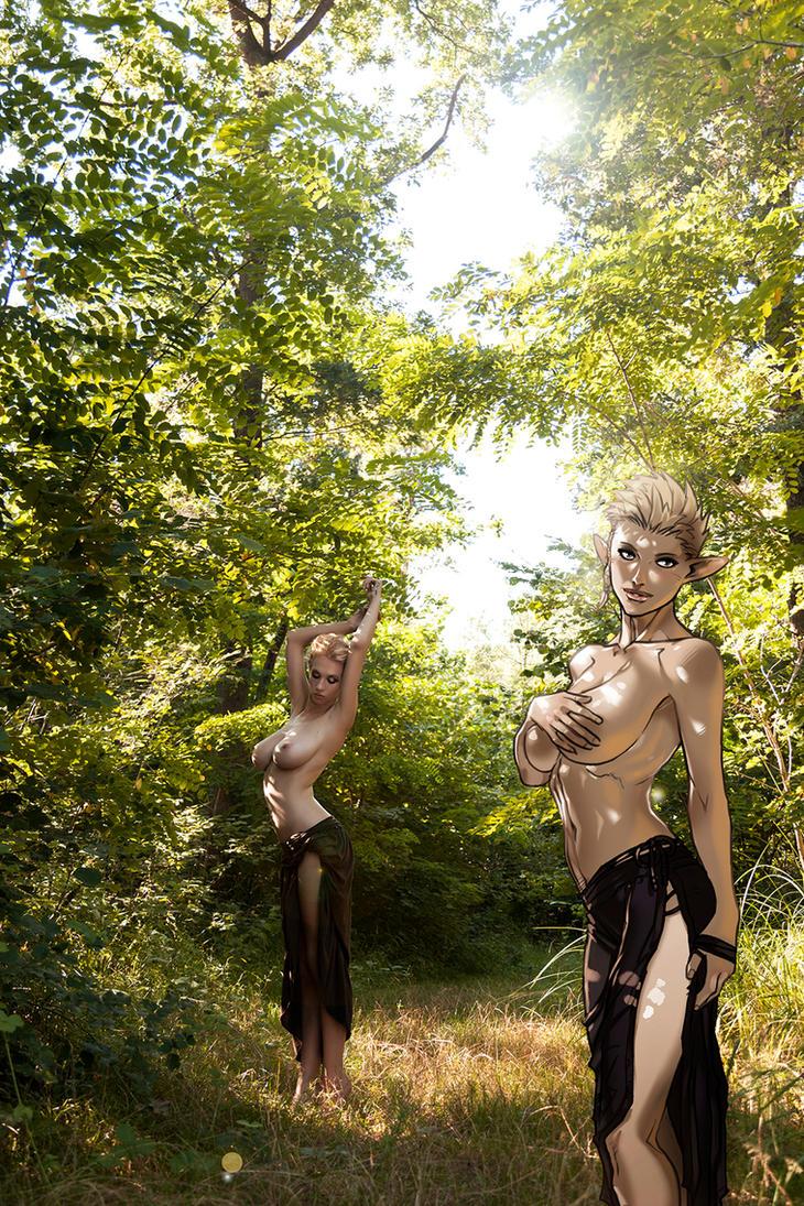 Natasha Legeyda Elves Dreams by Ganassa
