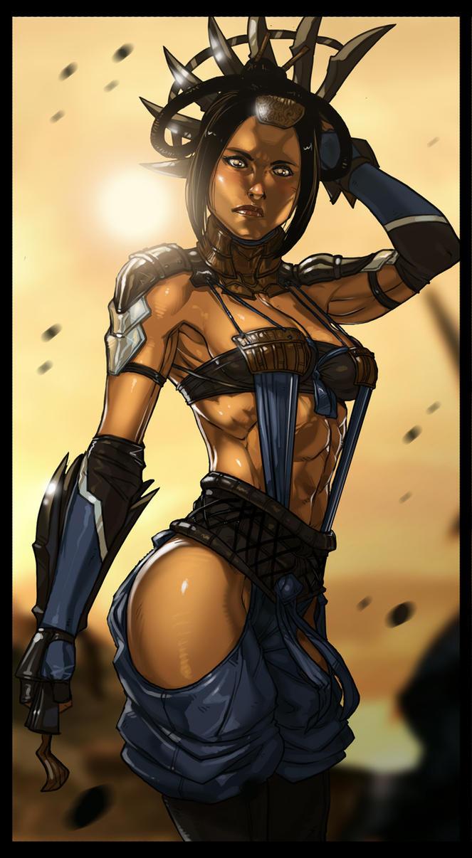 Mortal Kombat X - Kitana by Ganassa