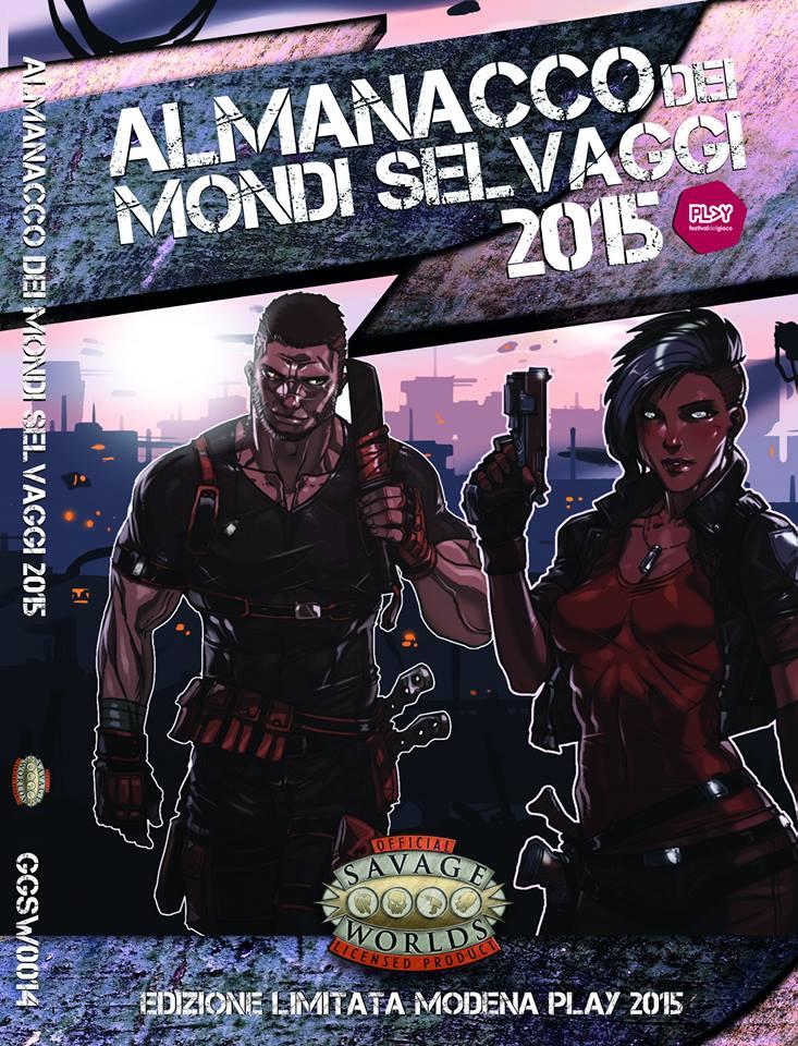 MERCS Preview - Savage Word Almanac 2015 by Ganassa