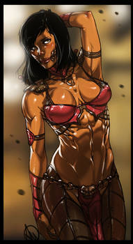 Mortal Kombat X - Mileena