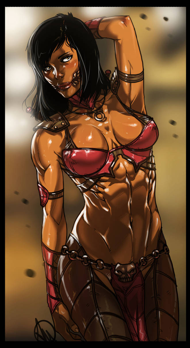 Mortal Kombat X Mileena By Ganassa On Deviantart