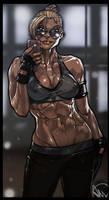 Mortal Kombat X - Cassie Cage