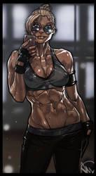 Mortal Kombat X - Cassie Cage by Ganassa