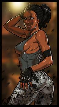 Mortal Kombat X - Jacqui Briggs