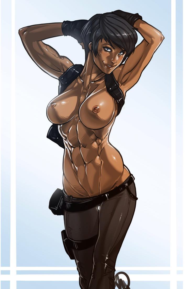 Captain Veronica Hawke by Ganassa