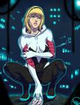 Spider-Gwen by Ganassa