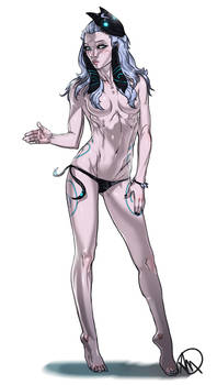 LOL Swimsuit Human Lamb of Kindred