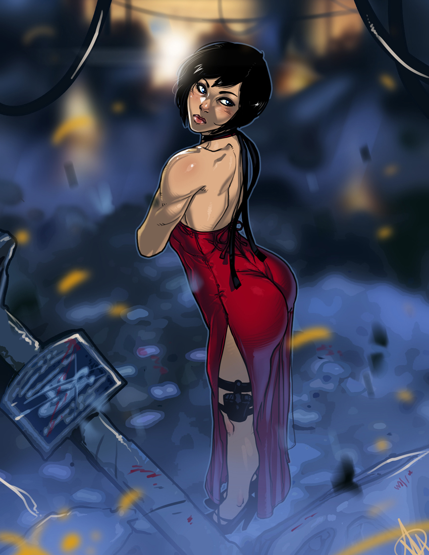 RE4 Ada Wong by Ganassa