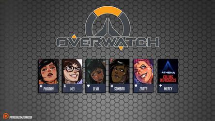 Overwatch - Patreon wallpaper