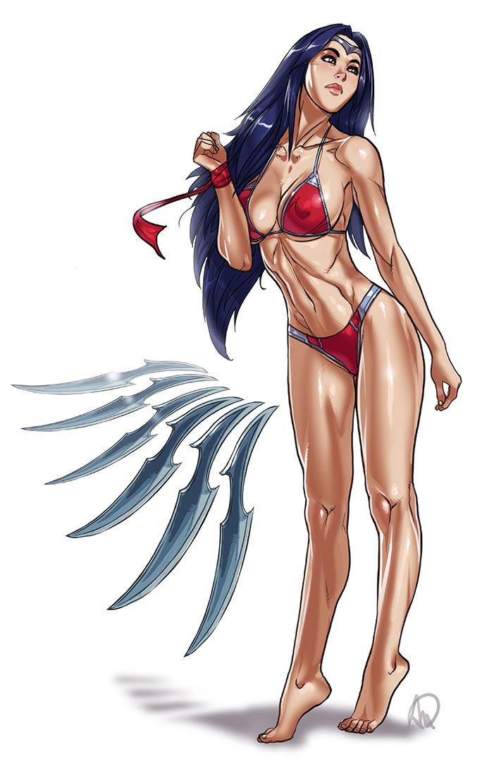LOL Swimsuit - Irelia re-re-worked by Ganassa