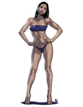 LOL Swimsuit - Kai'sa