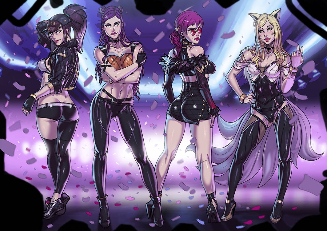 K/DA POP/STARS commission