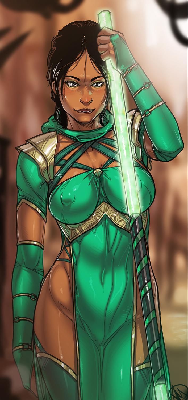 Jade fan art