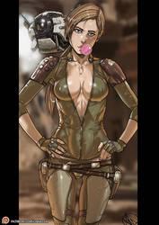 Mortal Kombat 11 Cassie Cage Patreon public reward by Ganassa
