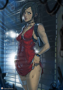 Public Patreon Post Resident Evil 2 Ada Wong