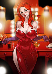 Jessica Rabbit commission by Ganassa