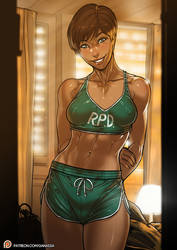 Resident Evil Rebecca Chambers patreon public post